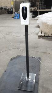 Стойка для санитайзера лофт Ремпрострой фото