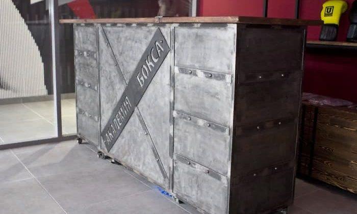 Мебель для Академии бокса